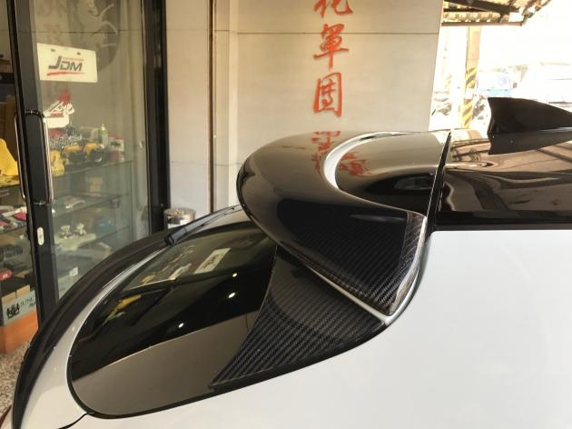 MS式樣 Carbon 尾翼 2