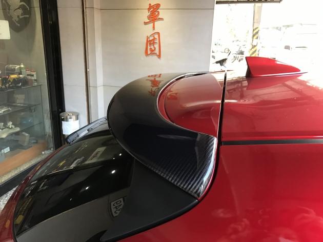 MS式樣 Carbon 尾翼 3