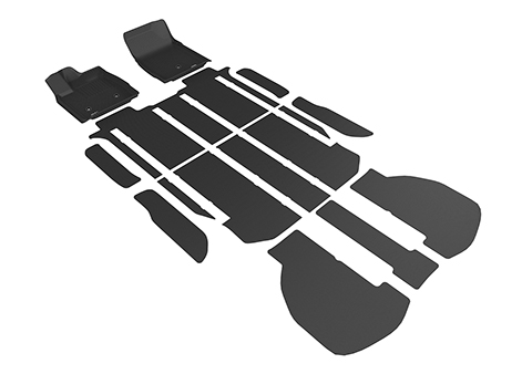 ALPHARD 3D 立體腳踏墊 5